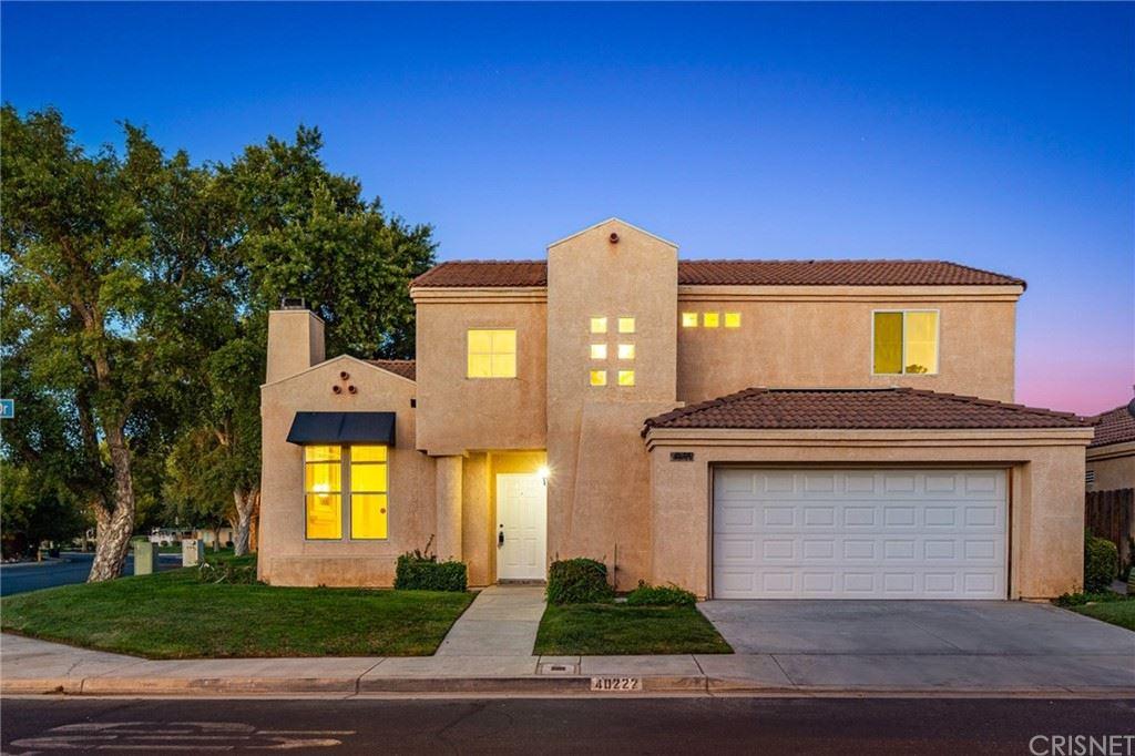 40222 Cantara Drive, Palmdale, CA 93550 - MLS#: SR21161557
