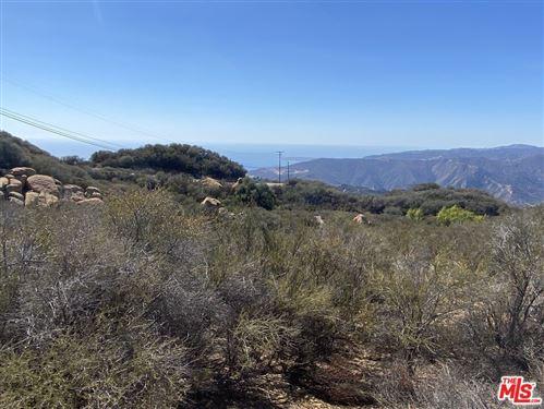 Photo of 0 W Saddle Peak, Malibu, CA 90265 (MLS # 21794558)