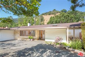 Photo of 2951 MANDEVILLE CANYON Road, Los Angeles, CA 90049 (MLS # 19461566)