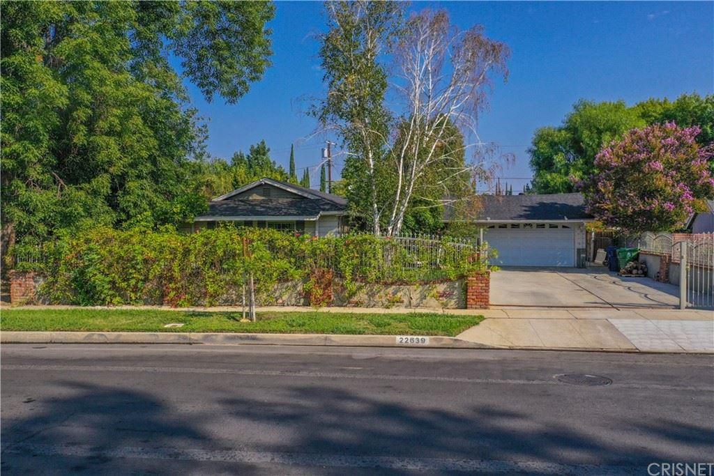 22639 Cohasset Street, West Hills, CA 91307 - MLS#: SR21189591