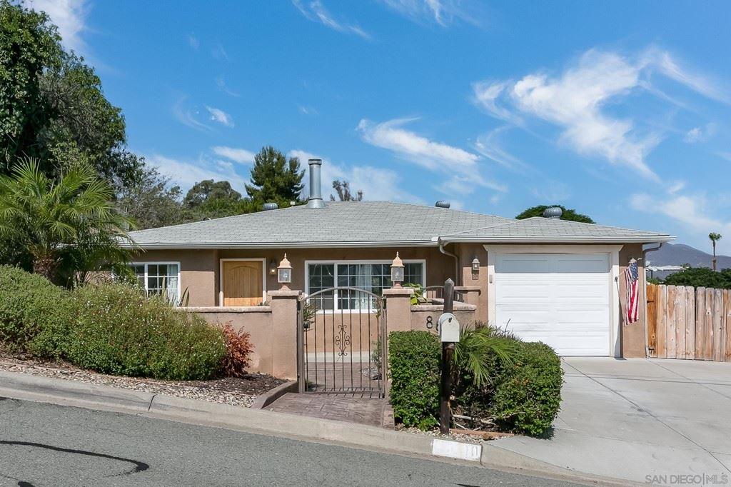 8600 Placid View Dr, Santee, CA 92071 - MLS#: 210019592