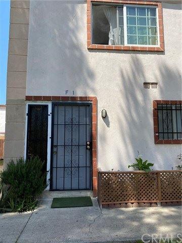 1000 E Bishop Street #F1, Santa Ana, CA 92701 - MLS#: PW21080614