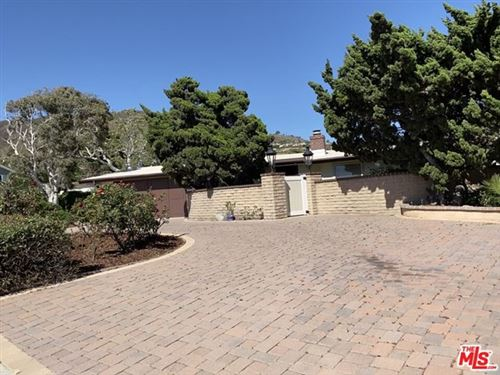 Photo of 6432 TRANCAS CANYON Road, Malibu, CA 90265 (MLS # 20580628)
