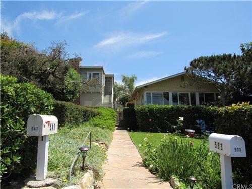 Photo of 541 Agate Street, Laguna Beach, CA 92651 (MLS # OC21167644)