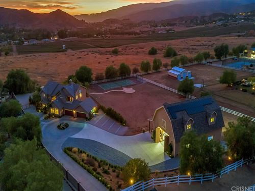 Photo of 34715 Sweetwater Drive, Agua Dulce, CA 91390 (MLS # SR21157658)