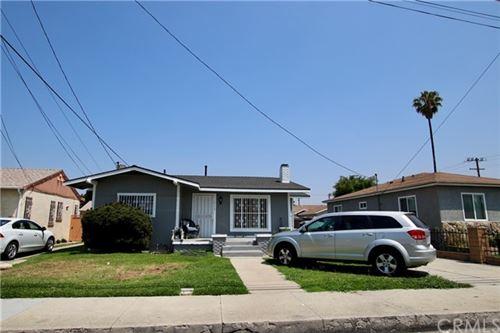 Photo of 813 E Laurel Street, Compton, CA 90221 (MLS # PW21103659)
