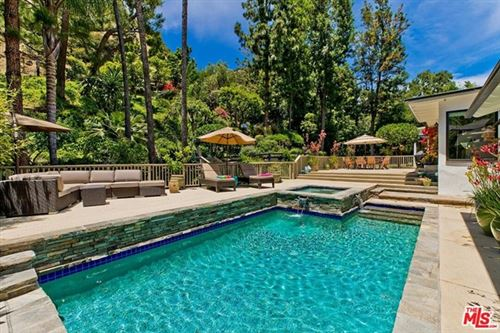 Photo of 3479 MANDEVILLE CANYON Road, Los Angeles, CA 90049 (MLS # 20629676)