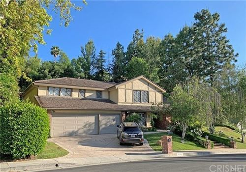 Photo of 4246 Whispering Pines Court, Encino, CA 91316 (MLS # SR20246690)