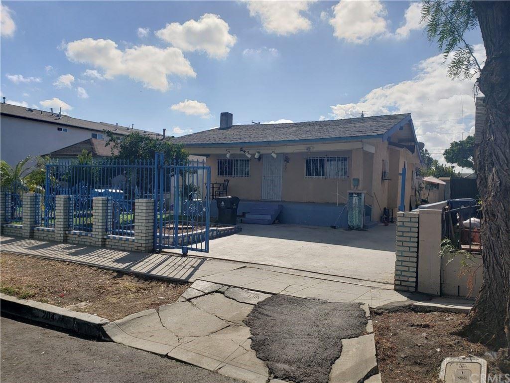 Photo of 204 E 101st Street, Los Angeles, CA 90003 (MLS # IG21230693)