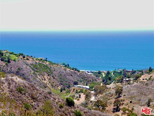 Photo of 0 Coal Canyon Road, Malibu, CA 90265 (MLS # 21748698)