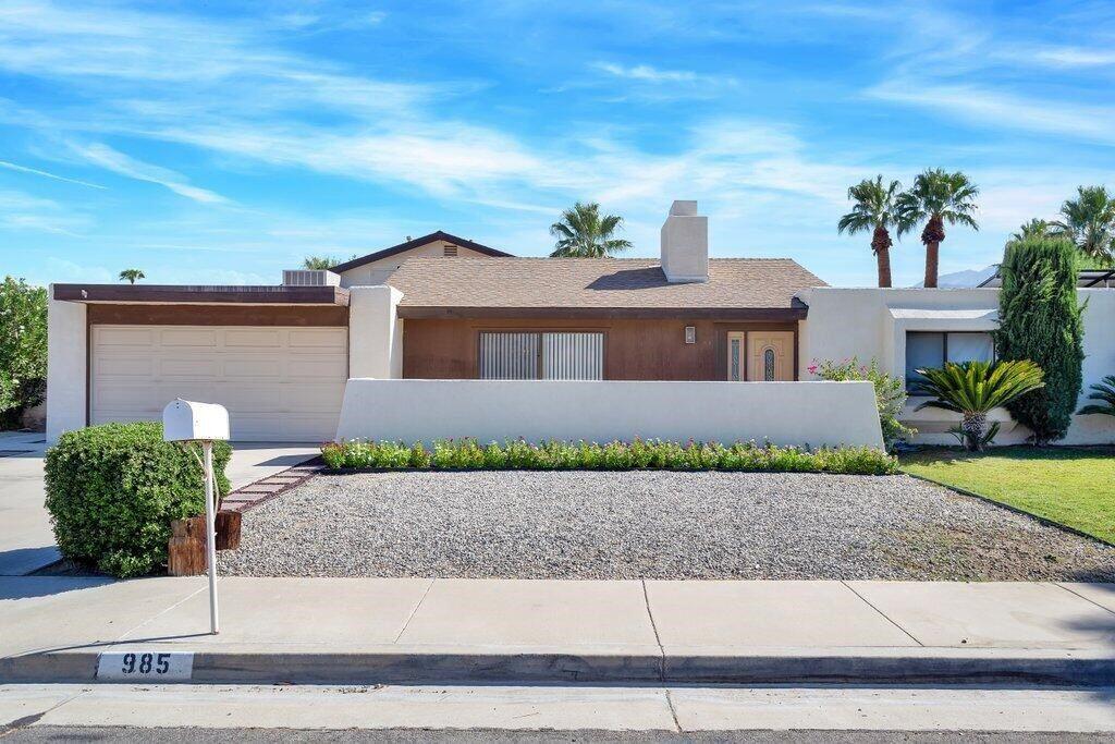 985 E El Cid, Palm Springs, CA 92262 - MLS#: 219067156DA