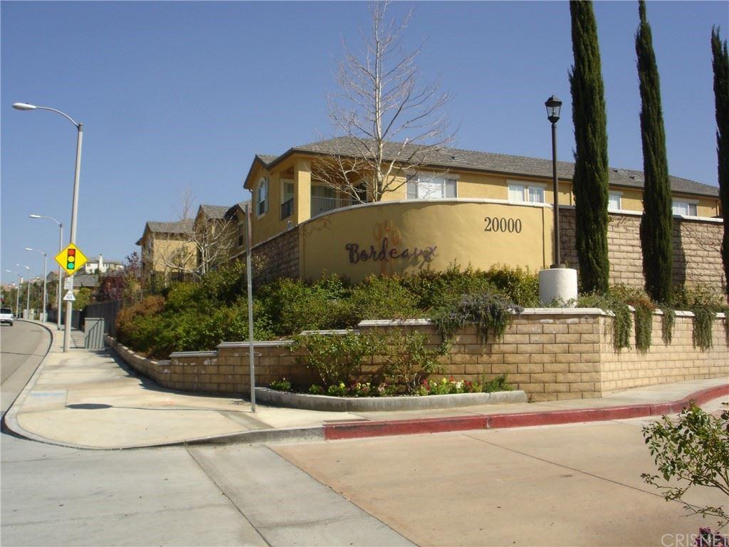 20000 Plum Canyon Road #1712, Santa Clarita, CA 91350 - #: SR21153716