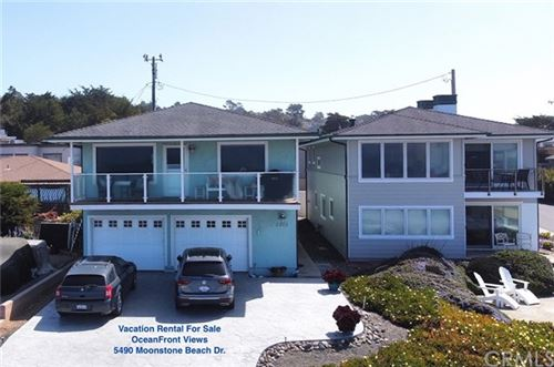 Photo of 5940 Moonstone Beach Drive, Cambria, CA 93428 (MLS # SC21077717)