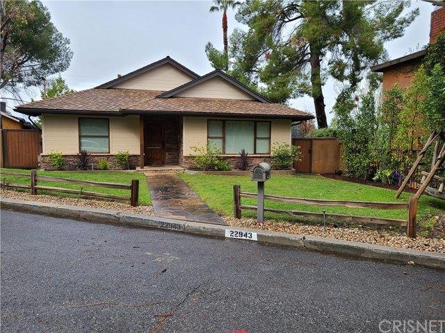 22943 Crespi Street, Woodland Hills, CA 91364 - #: SR21019745