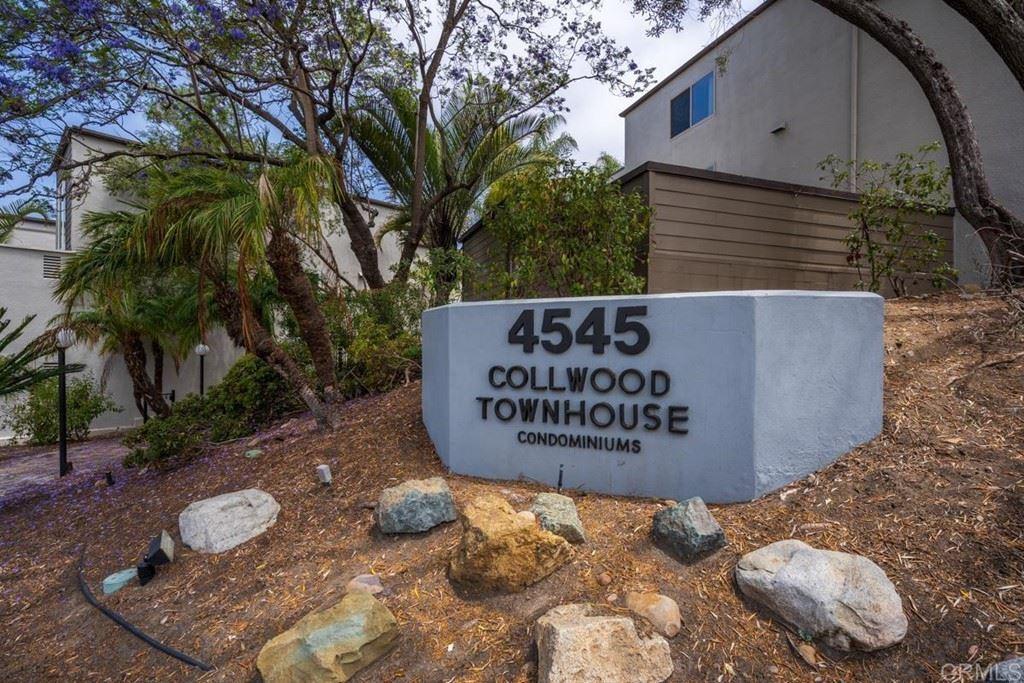 4545 Collwood Boulevard #65, San Diego, CA 92115 - #: PTP2104746