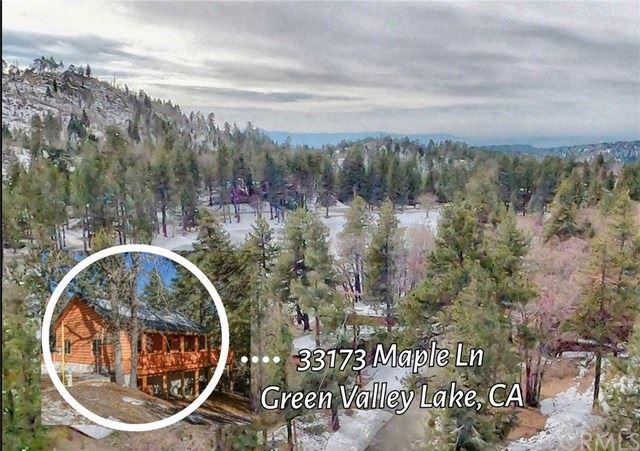 33173 Maple Lane, Green Valley Lake, CA 92341 - MLS#: EV20243755