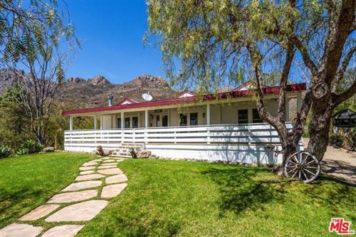 Photo of 12555 Yerba Buena Road, Malibu, CA 90265 (MLS # 21720766)