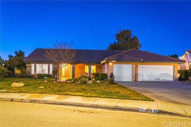 4829 Northridge Drive, Palmdale, CA 93551 - #: SR21020775