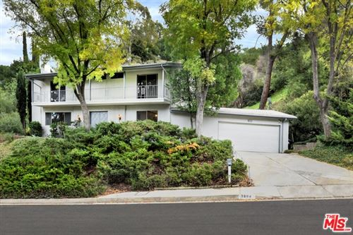 Photo of 3804 BALLINA CANYON RD. Road, Encino, CA 91436 (MLS # 20567784)