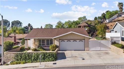 Photo of 22475 Tula Drive, Saugus, CA 91350 (MLS # SR21073786)
