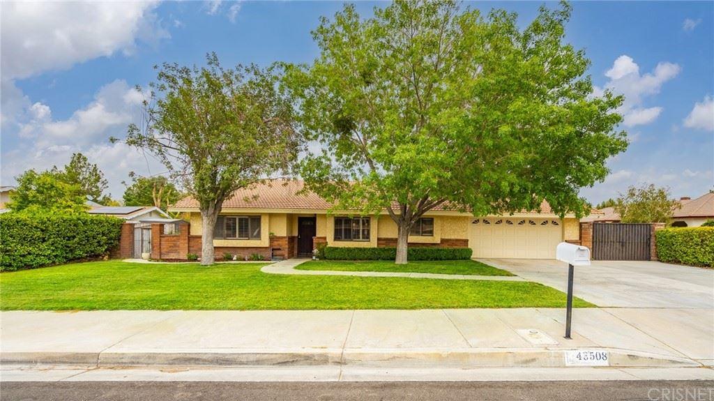 43508 25th Street W, Lancaster, CA 93536 - MLS#: SR21195789