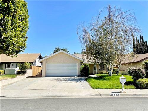 Photo of 27628 Cherry Creek Drive, Valencia, CA 91354 (MLS # SR21207825)