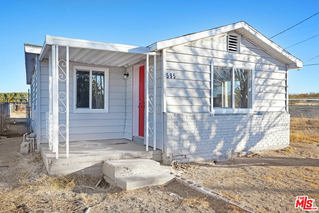 595 Valley Avenue, Barstow, CA 92311 - MLS#: 21689828