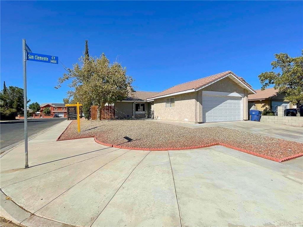 3439 San Clemente Court, Lancaster, CA 93550 - MLS#: SR21193841