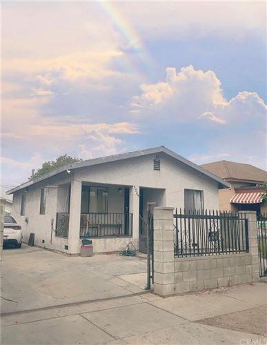 Photo of 5525 Morgan Avenue, Los Angeles, CA 90011 (MLS # DW20187842)