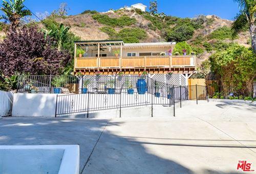 Photo of 3938 LAS FLORES CANYON Road, Malibu, CA 90265 (MLS # 20637856)