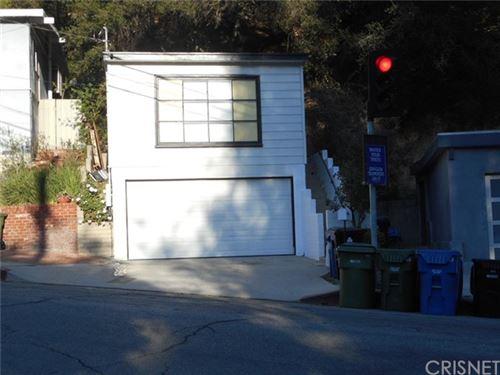 Photo of 2174 N Beverly Glen Boulevard, Los Angeles, CA 90077 (MLS # SR21067864)