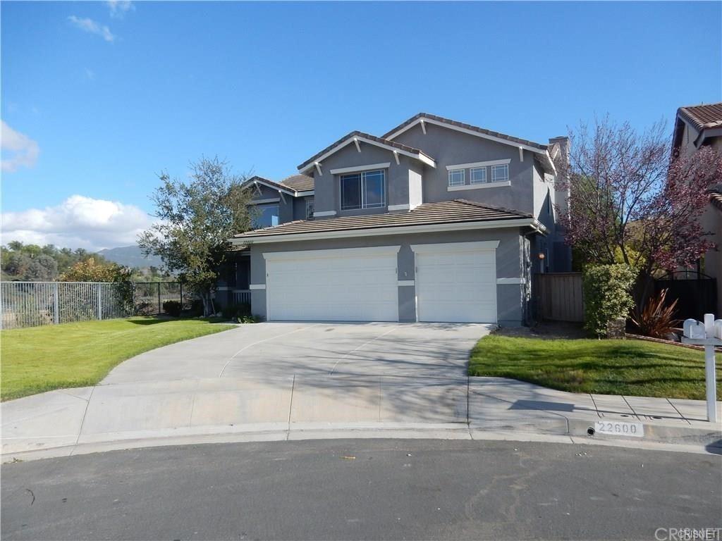 22600 Vasquez Rock Court, Santa Clarita, CA 91350 - MLS#: SR21172866
