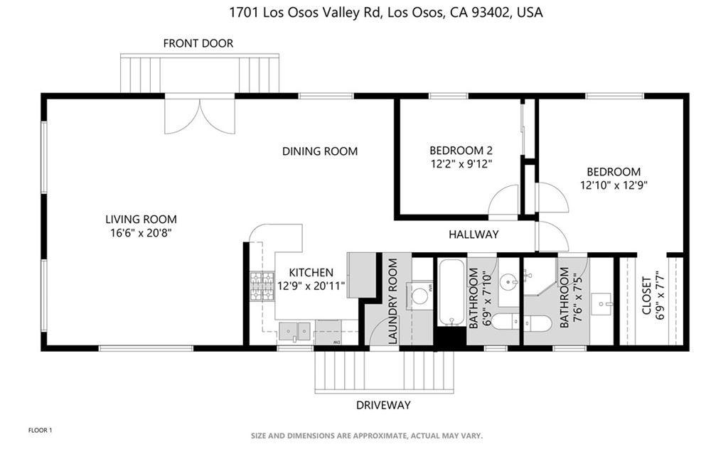 Photo of 1701 Los Osos Valley Road #53, Los Osos, CA 93402 (MLS # SC21169881)