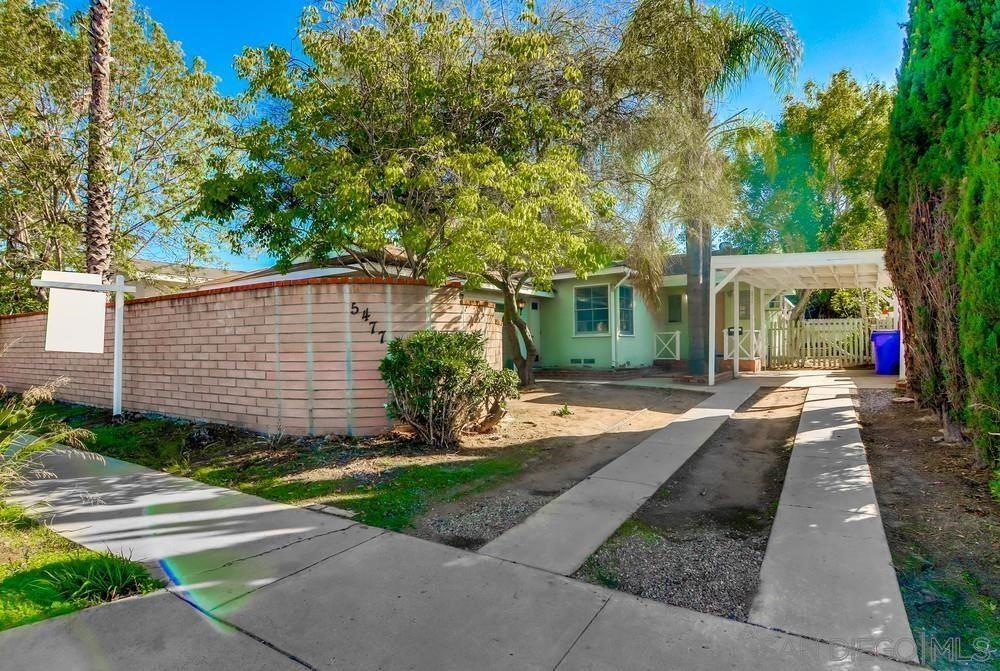 5477 Waring Rd, San Diego, CA 92120 - MLS#: 210028882