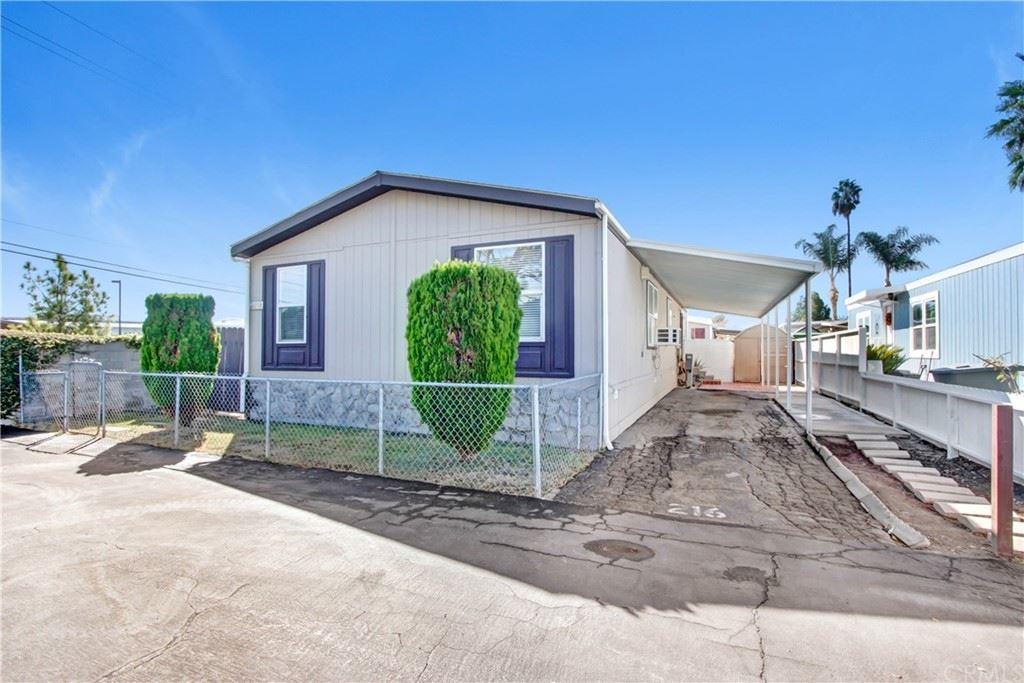 15050 Monte Vista Avenue #216, Chino Hills, CA 91709 - #: CV21219882