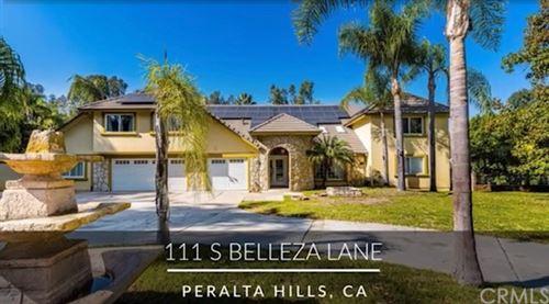 Photo of 111 S Belleza Lane, Anaheim Hills, CA 92807 (MLS # PW21207885)