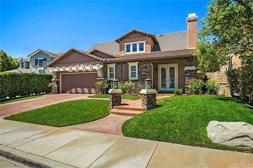 Photo of 26815 Pine Hollow Court, Valencia, CA 91381 (MLS # SR21121885)