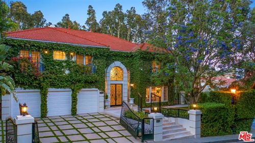 Photo of 12001 CREST Court, Beverly Hills, CA 90210 (MLS # 21690888)