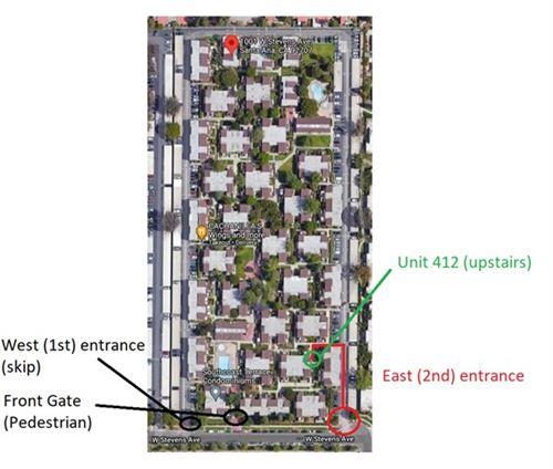 Photo of 1001 W Stevens Avenue #412, Santa Ana, CA 92707 (MLS # PW20195908)
