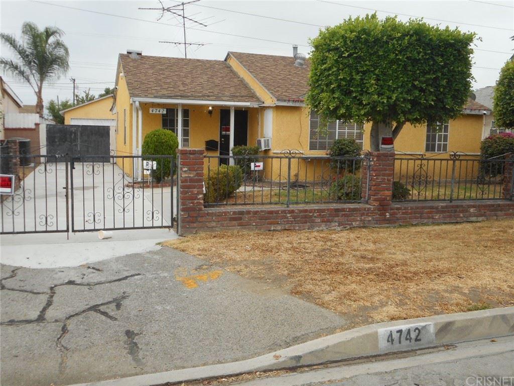 4742 Garrick Avenue, Pico Rivera, CA 90660 - MLS#: SR21203908