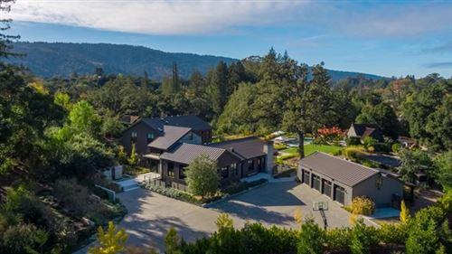 Photo of 246 Mountain Home Road, Woodside, CA 94062 (MLS # ML81820914)