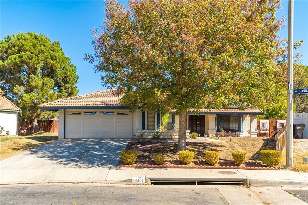 4611 Paseo Fortuna, Palmdale, CA 93551 - #: SR21228914