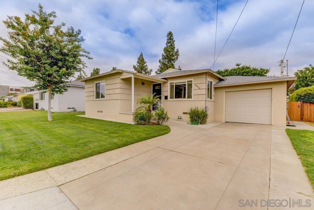 6410 Stanley Ave, San Diego, CA 92115 - MLS#: 210023924