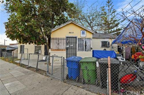 Photo of 4415 San Pedro Place, Los Angeles, CA 90011 (MLS # DW21008934)