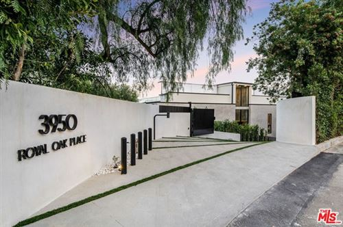 Photo of 3950 Royal Oak Place, Encino, CA 91436 (MLS # 21679960)