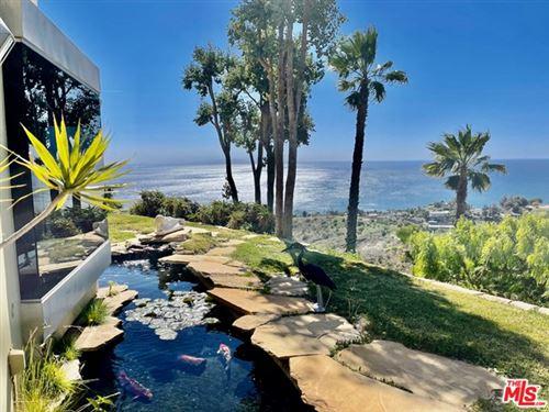 Photo of 2657 COAL CANYON Road, Malibu, CA 90265 (MLS # 21751966)