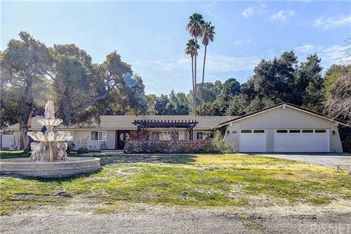 Photo of 15900 Live Oak Springs Canyon Road, Canyon Country, CA 91387 (MLS # SR20016966)