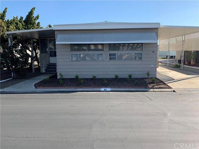 9391 California Avenue #61, Riverside, CA 92503 - MLS#: IV21042966