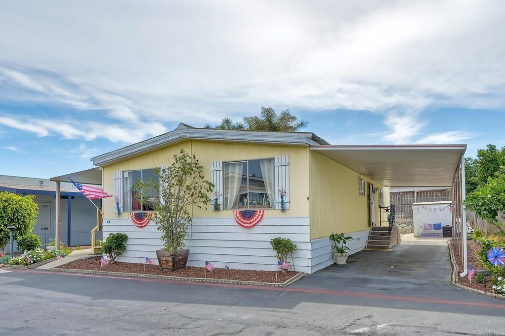 1333 Olive Avenue #74, Vista, CA 92083 - MLS#: NDP2108974