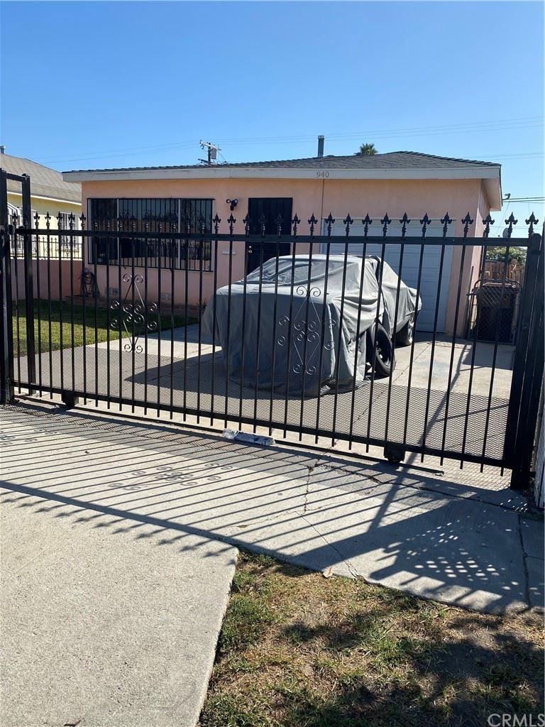 940 W 131st Street, Compton, CA 90222 - MLS#: PW21232986